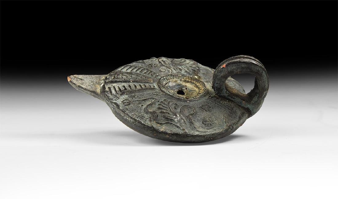 Roman Style Oil Lamp.