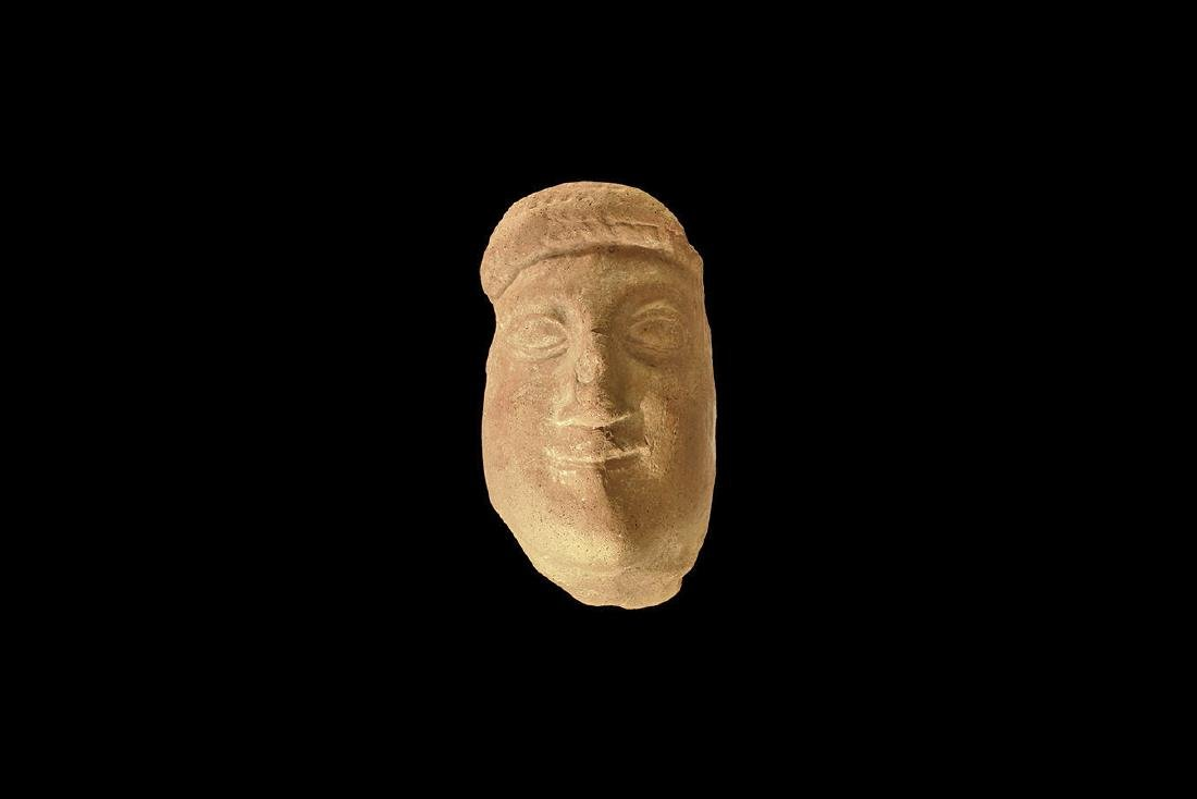 Greek Style Head of a Kore.
