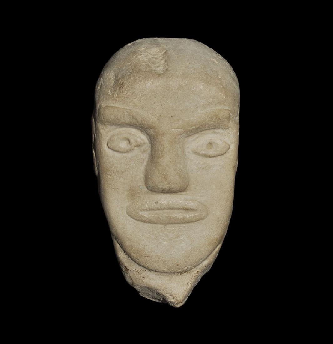 Western Asiatic Style South Arabian Face