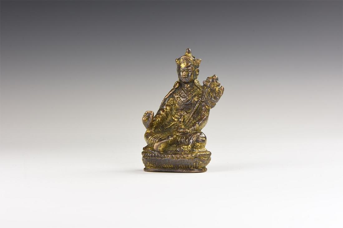Chinese Style Gilt Buddha Statuette.
