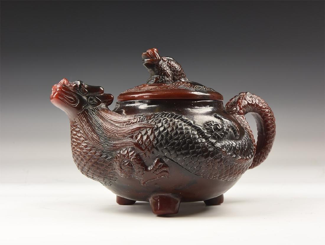 Chinese Style Dragon Teapot