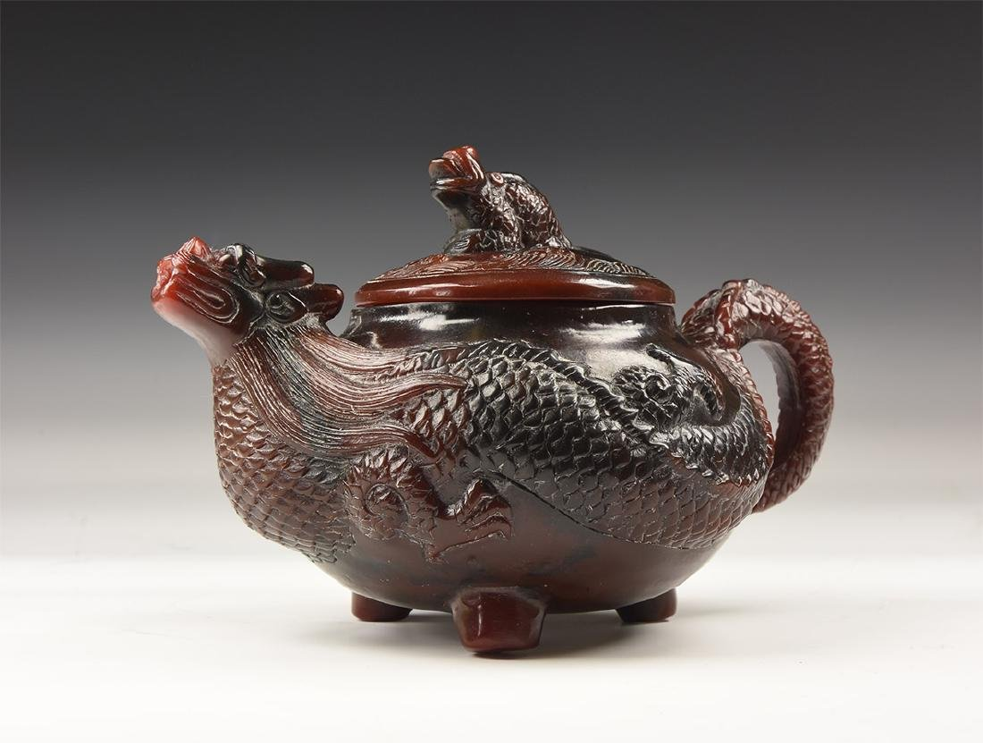 Chinese Style Dragon Teapot