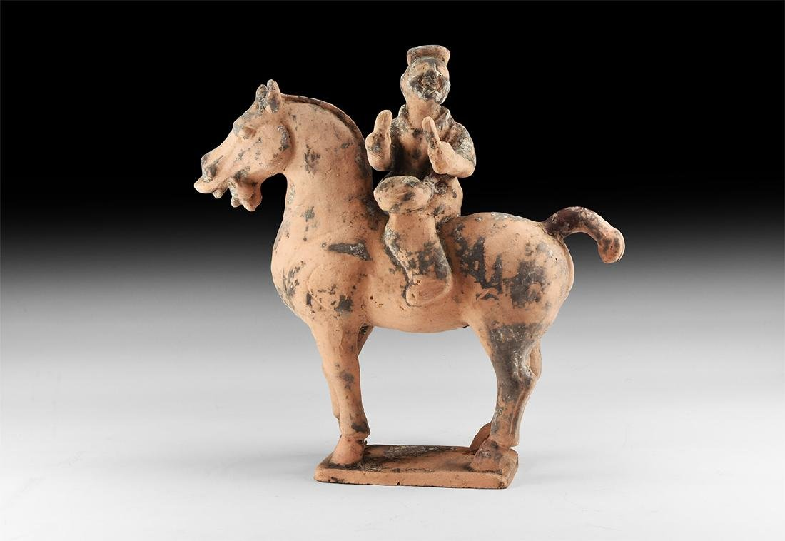 Chinese Tang Style Horse and Rider.