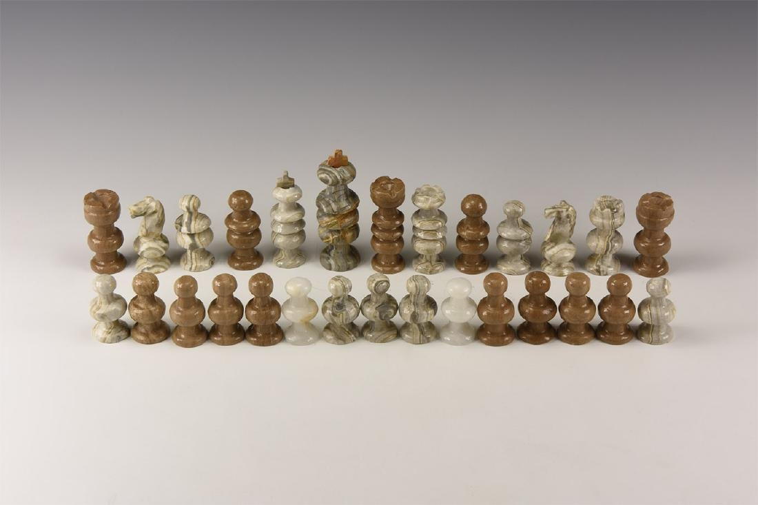 Natural History - Mixed Chess Piece Group