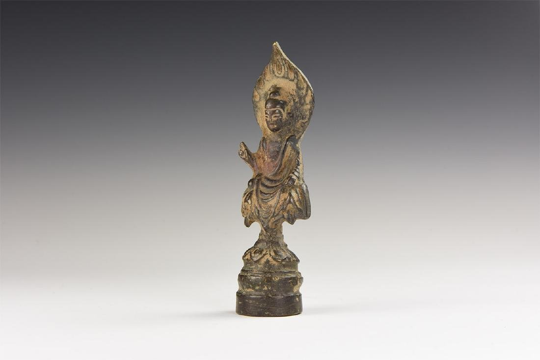 Chinese Style Buddha Statuette.