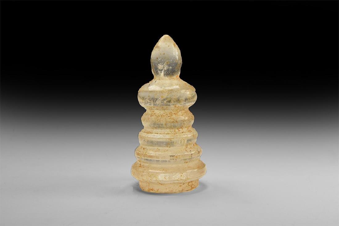 Chinese Crystal Stupa.
