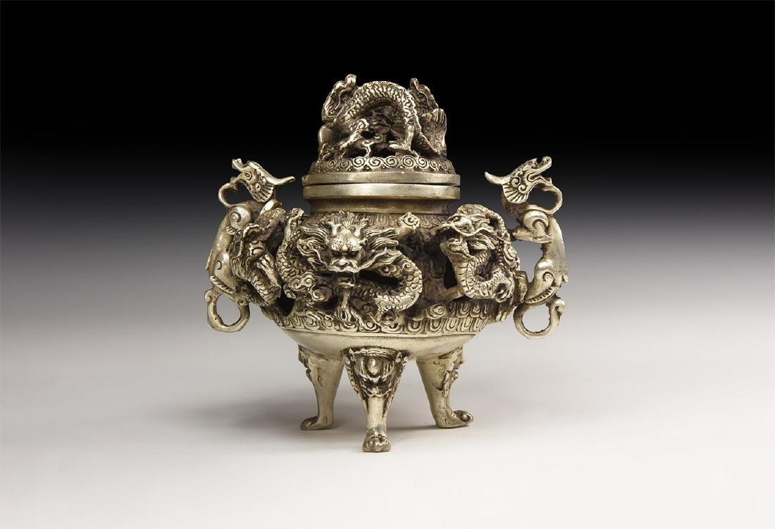 Chinese Style Sugar Jar.