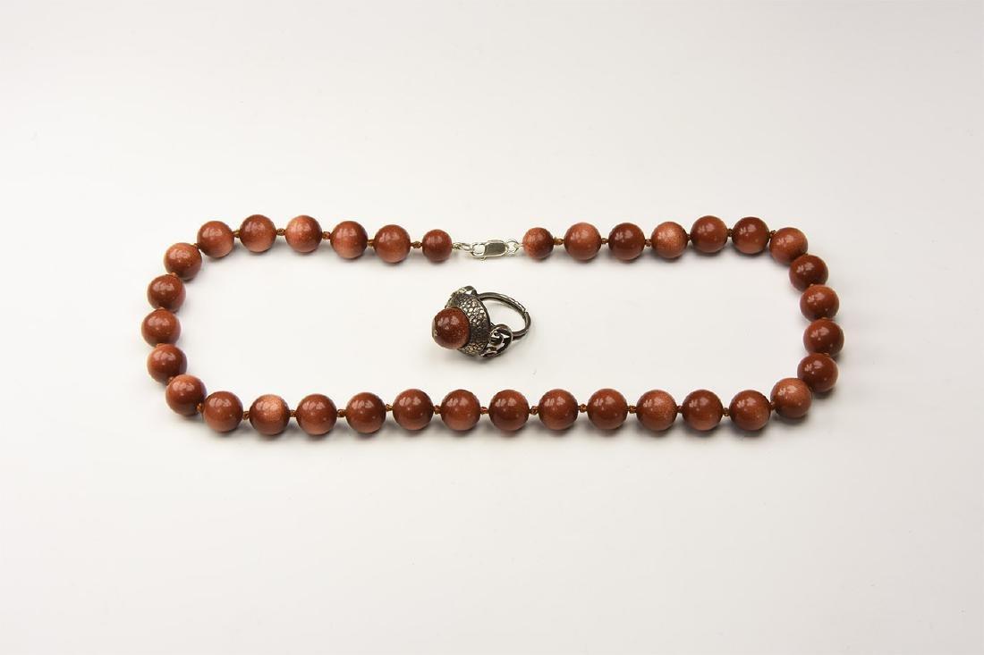Vintage Moonstone Jewellery Group