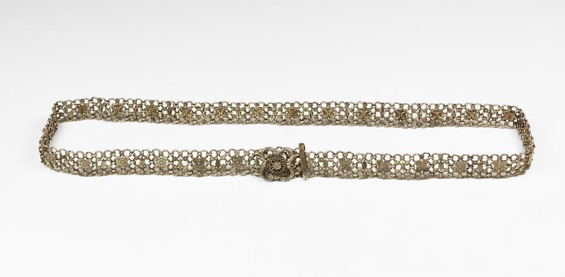Ottoman Silver Belt