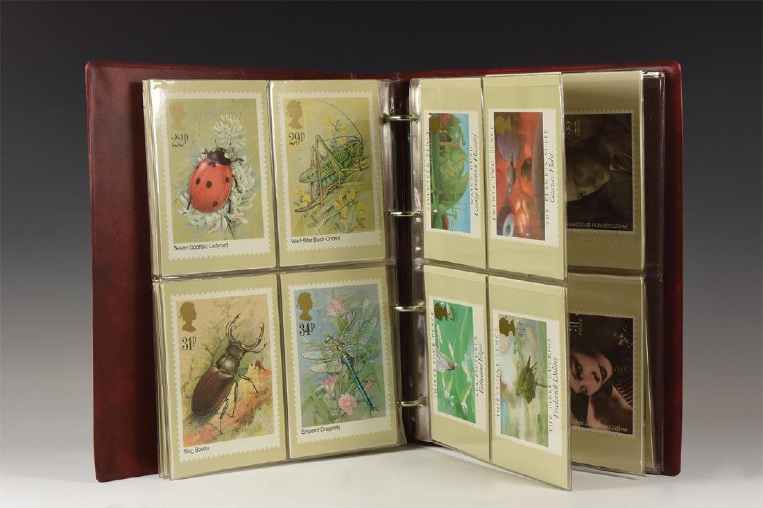 Vintage Royal Mail Stamp Postcard Group