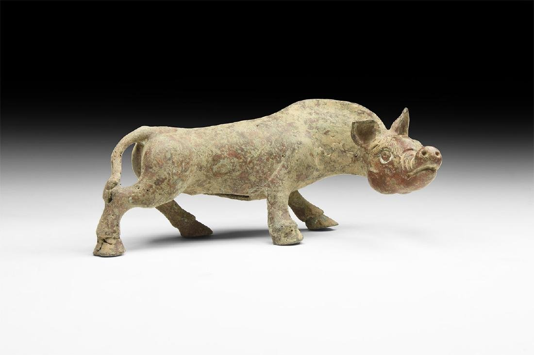 Chinese Style Beast Statuette.
