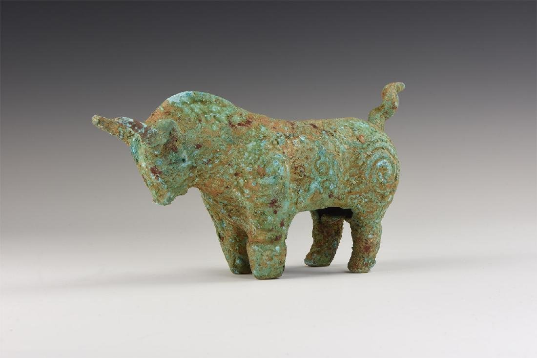 Chinese Bull Statuette.