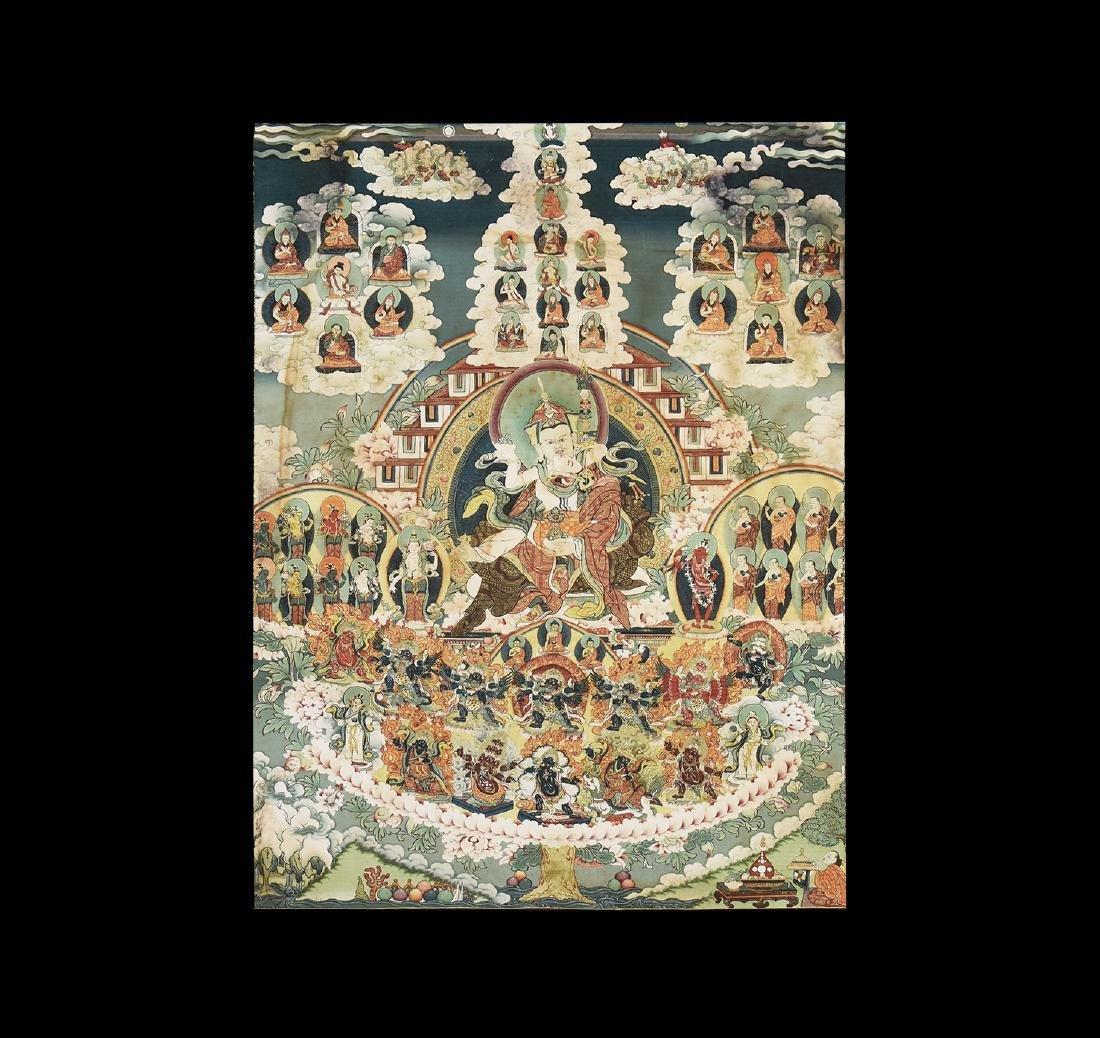 Tibetan Thanka Print