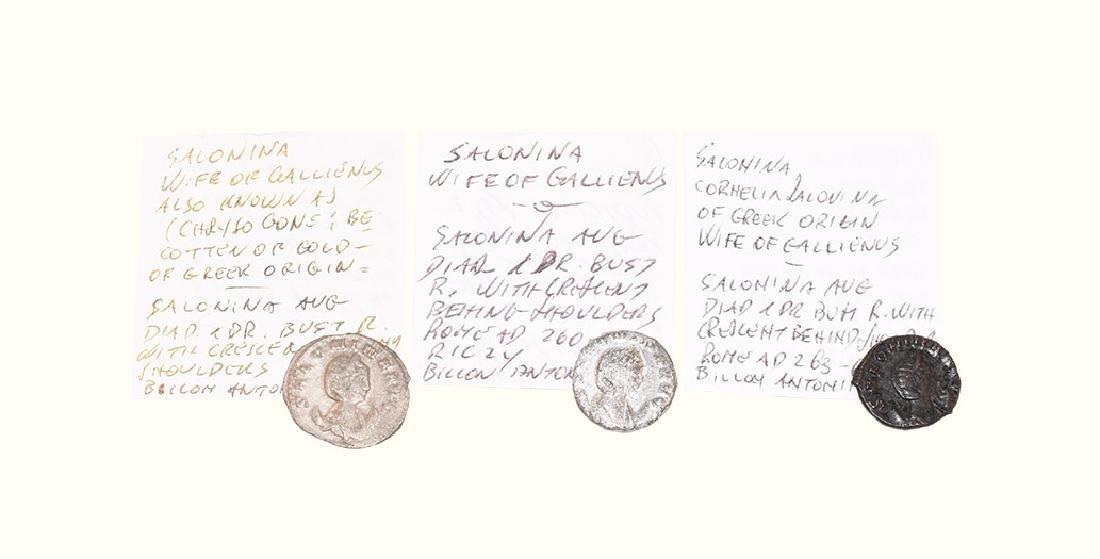 Roman Coins - Salonina - Antoninianii [3]