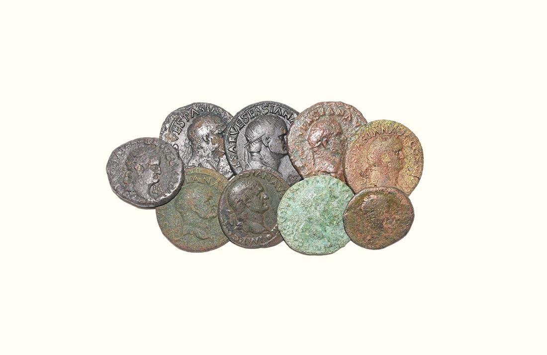 Roman Coins - Vespasian - Bronzes [9]