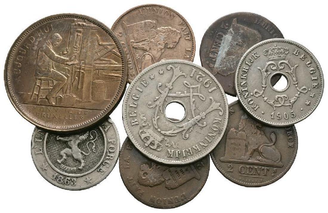 Belgium - 1842-1921 - Mixed Issues [8]