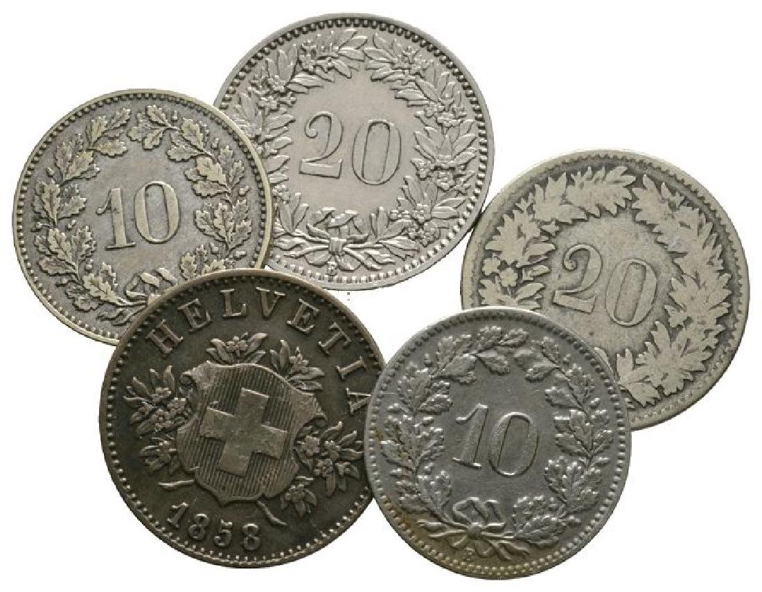 World Coins - Switzerland - Mixed Issues [5]