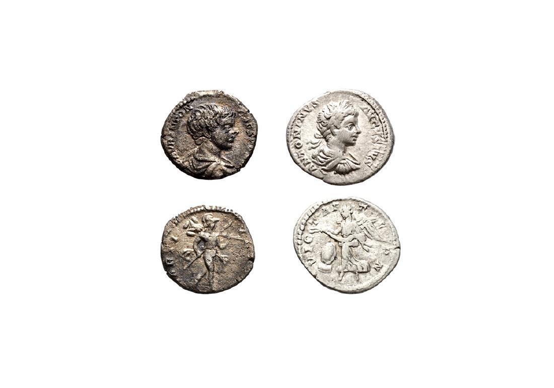 Roman Imperial Coins - Caracalla - Denarii [2]