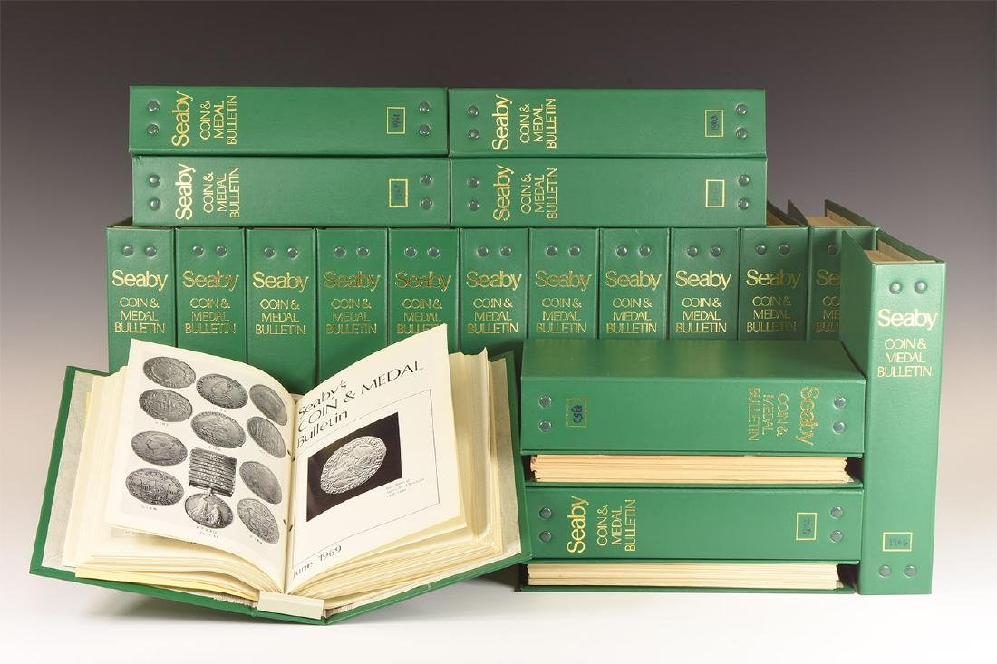 Books - Seaby's Coin & Medal Bulletin, 1948-1969 [21]