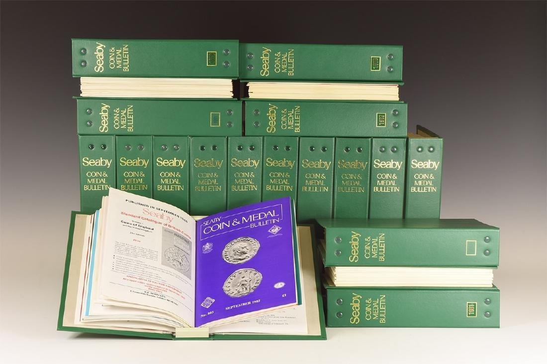Books - Seaby's Coin & Medal Bulletin, 1970-1989 [20]