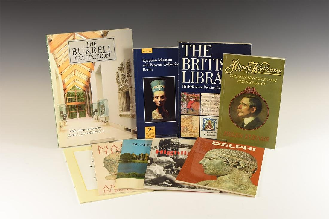 Books - Collections & Museums Titles