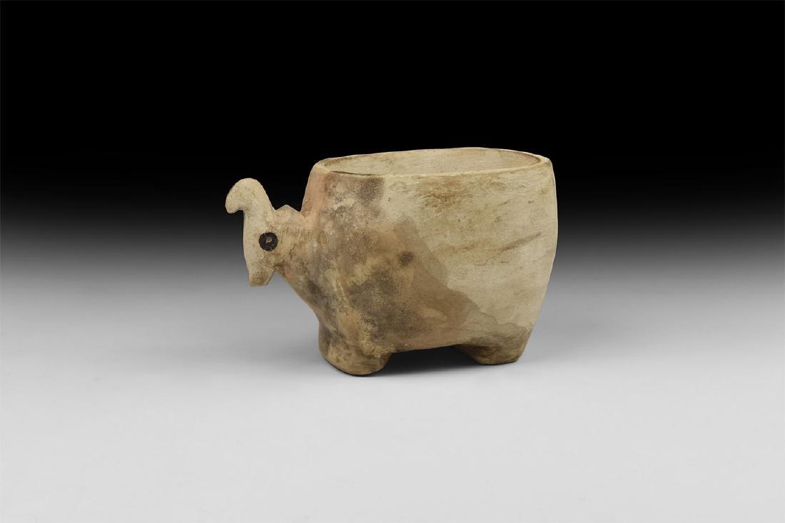 Egyptian Animal Vessel