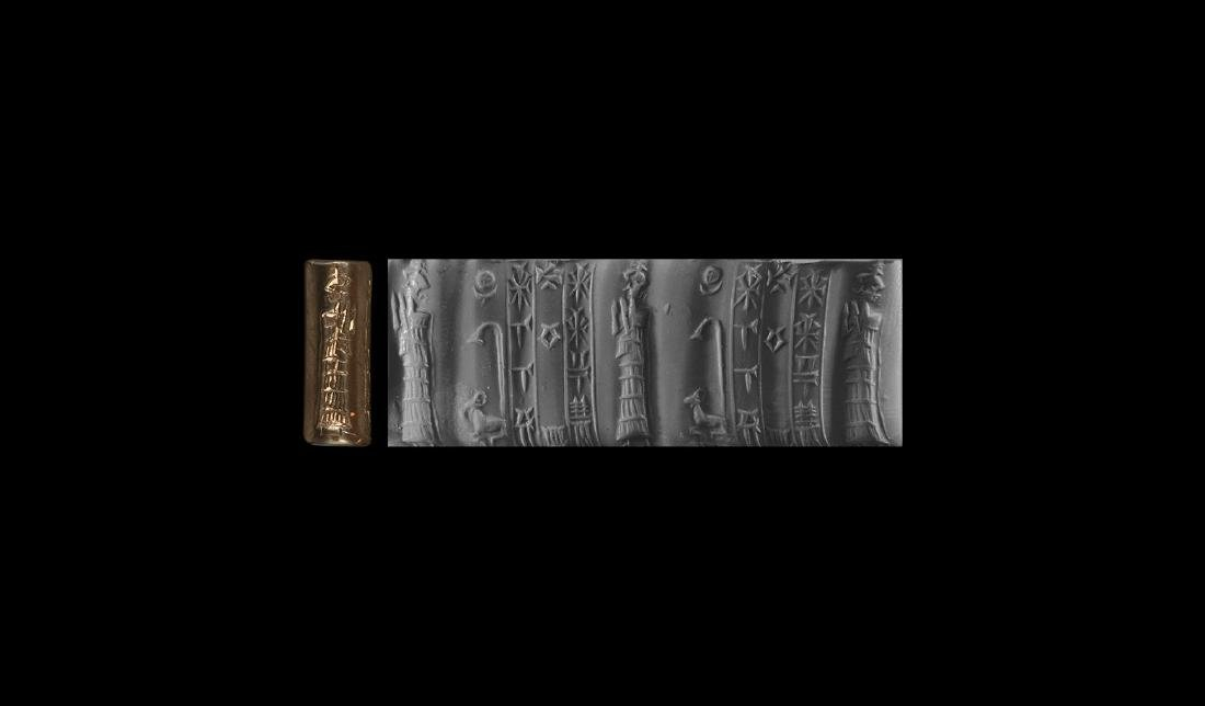 Old Babylonian Cylinder Seal for the God Amurru