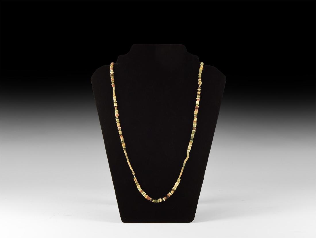 Egyptian Mummy Bead Necklace
