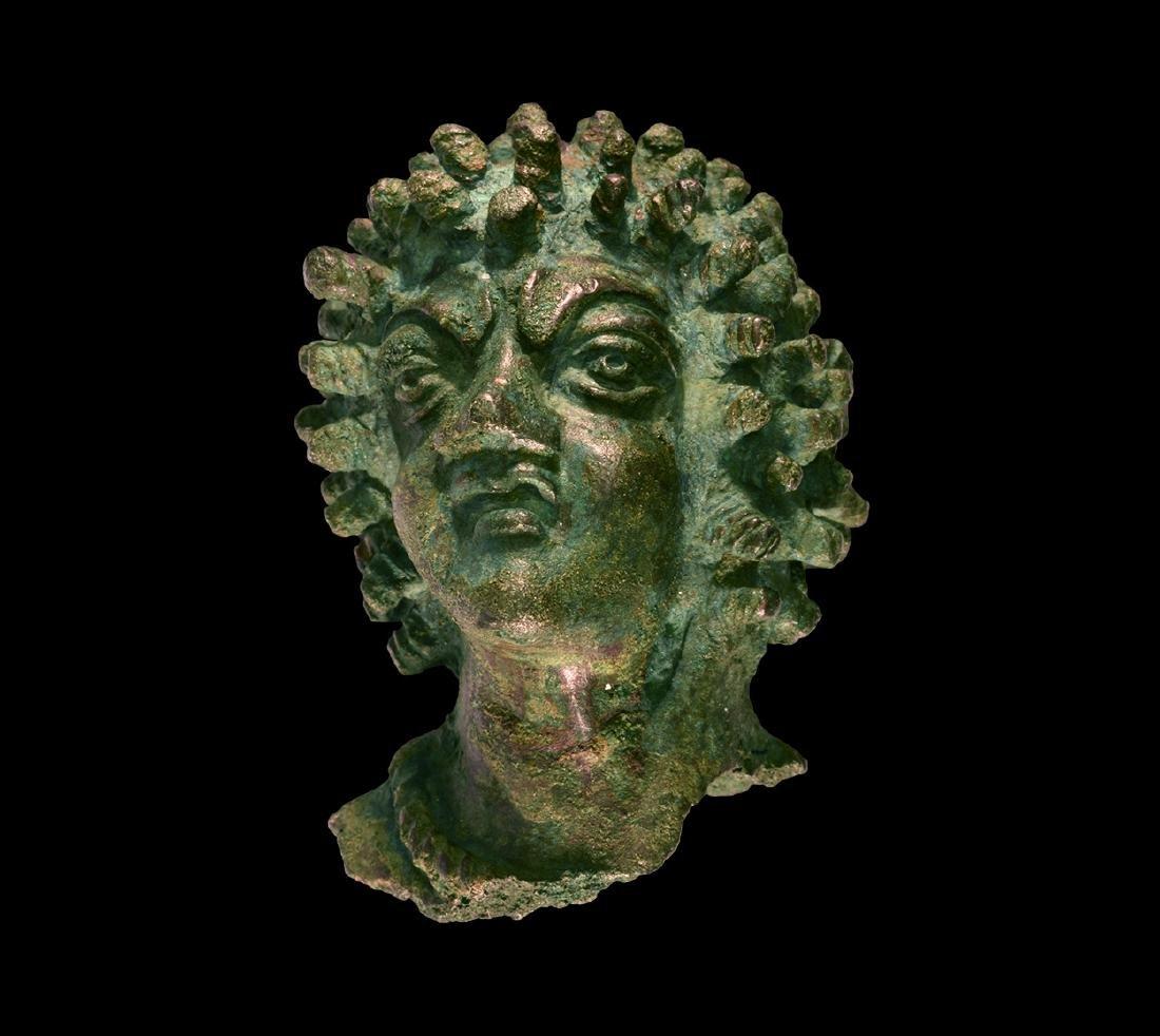 Roman Statue Head of an African