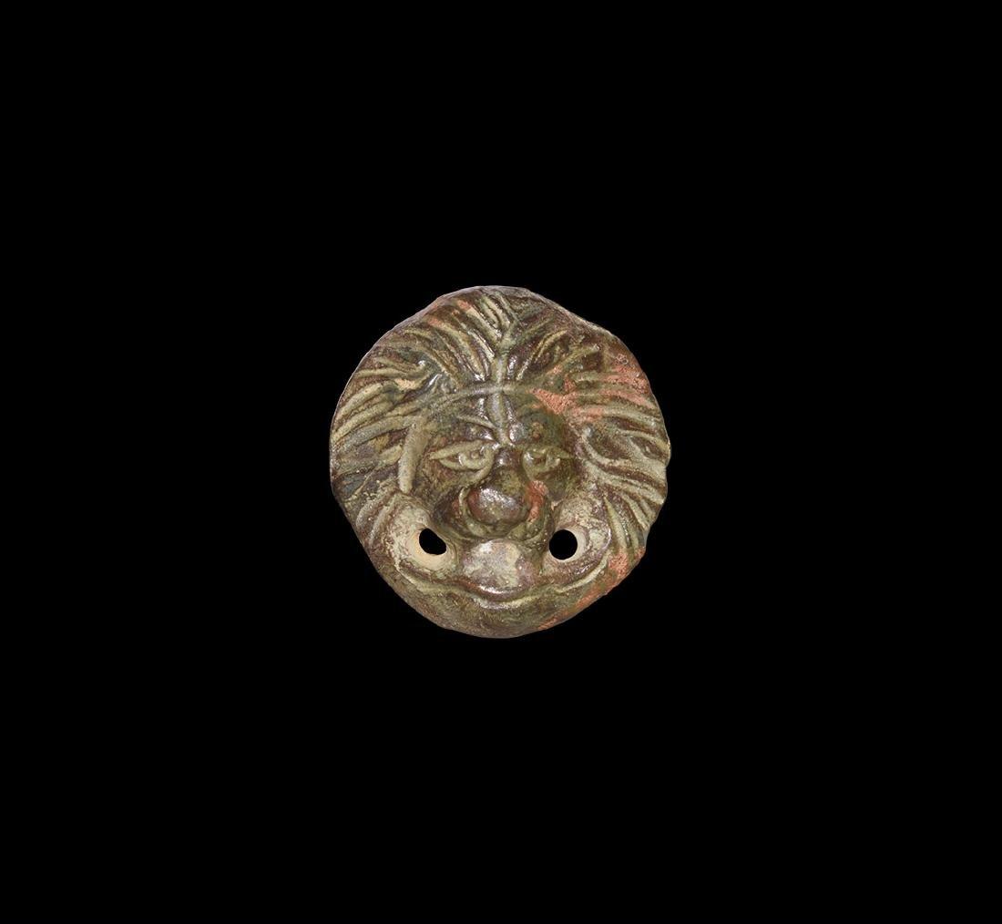 Roman Lion Mask Mount