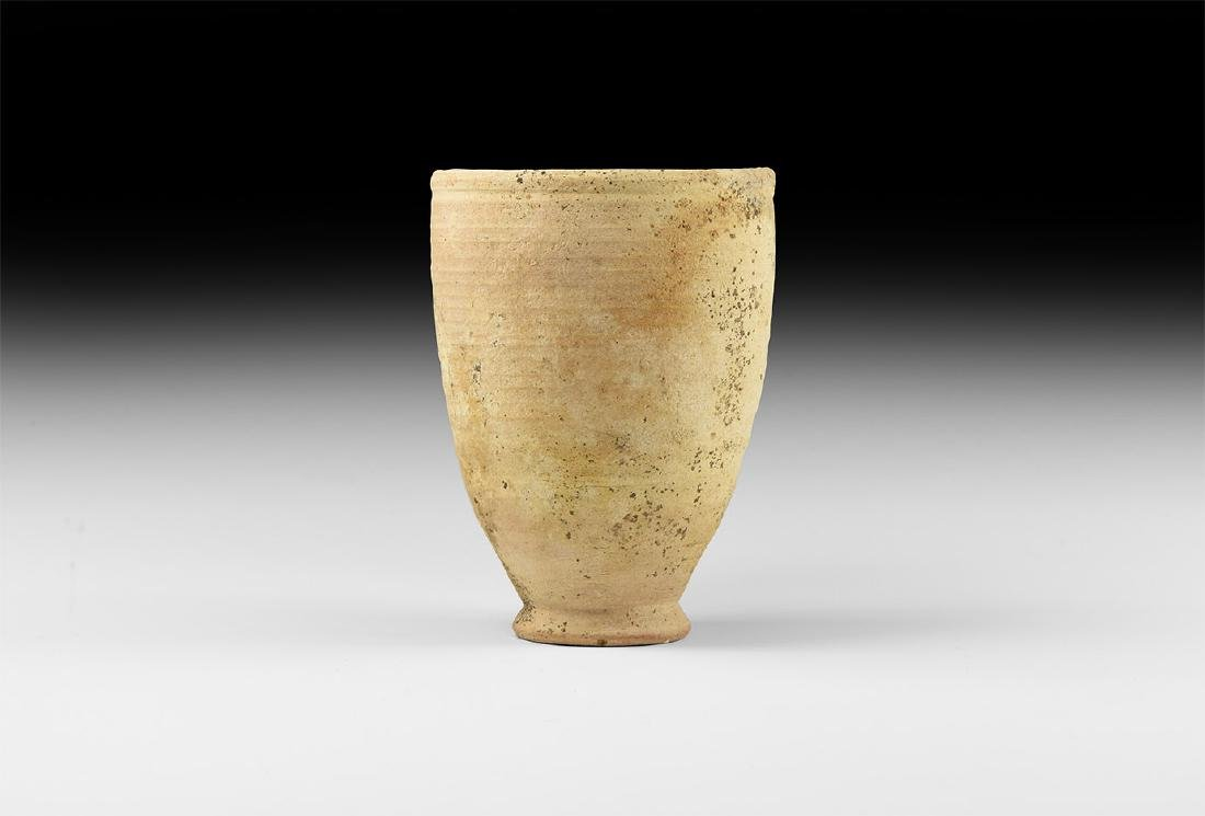 Carthaginian Ribbed Cup