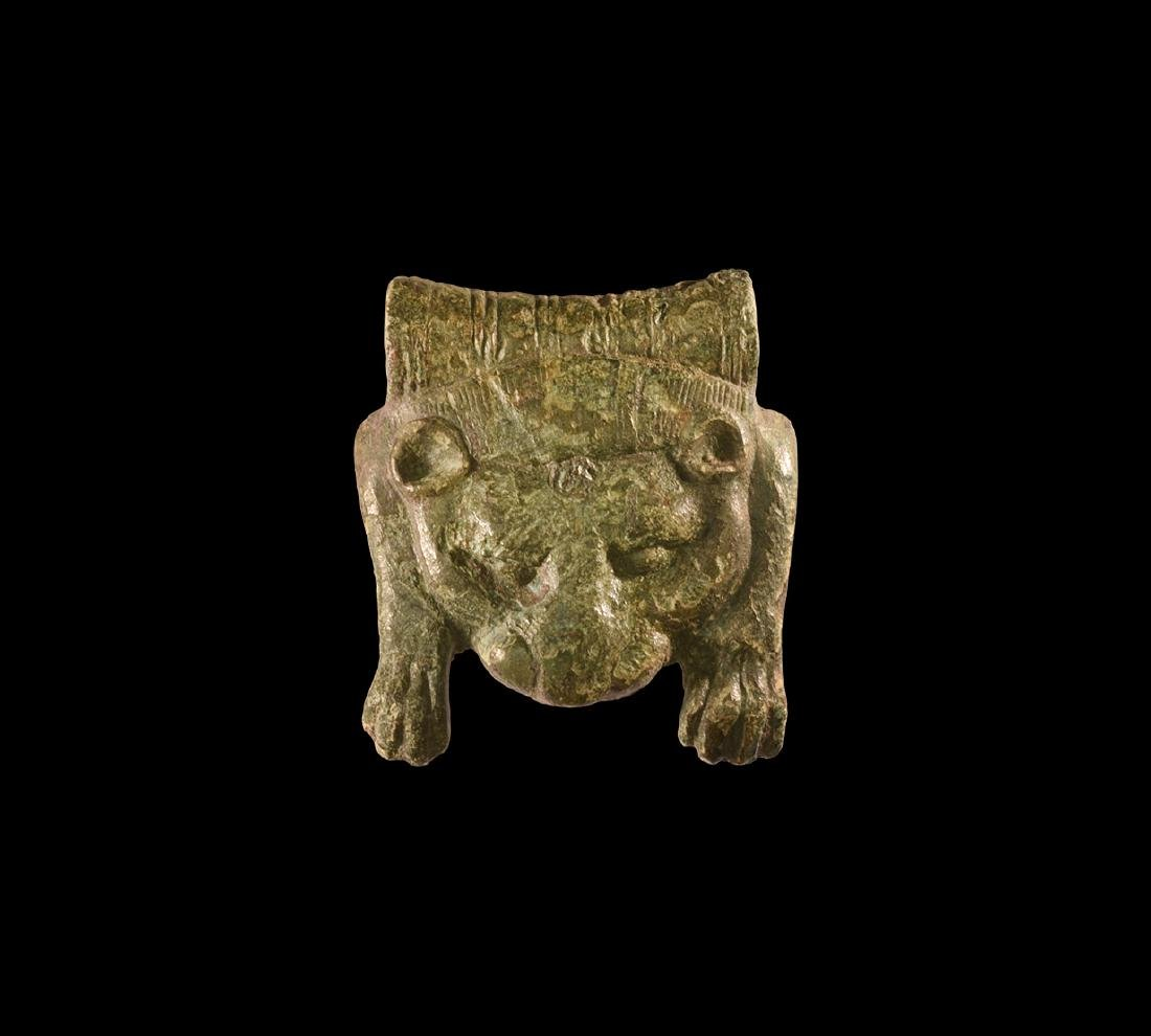 Roman Bear Skin Bowl Mount