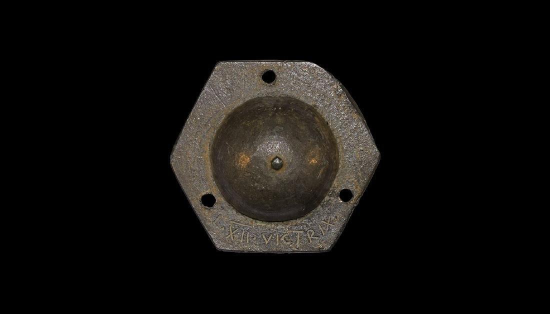 Roman Shield Boss of XII Legion