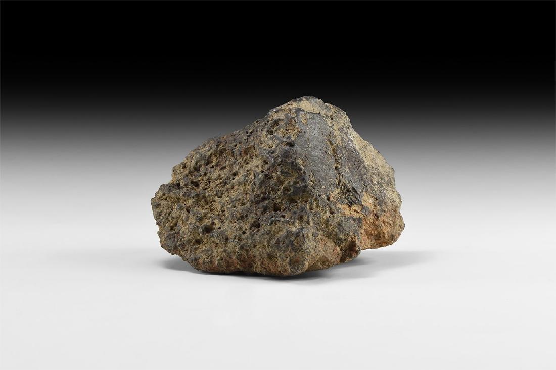 Natural History - Rhodope Mountains Meteorite