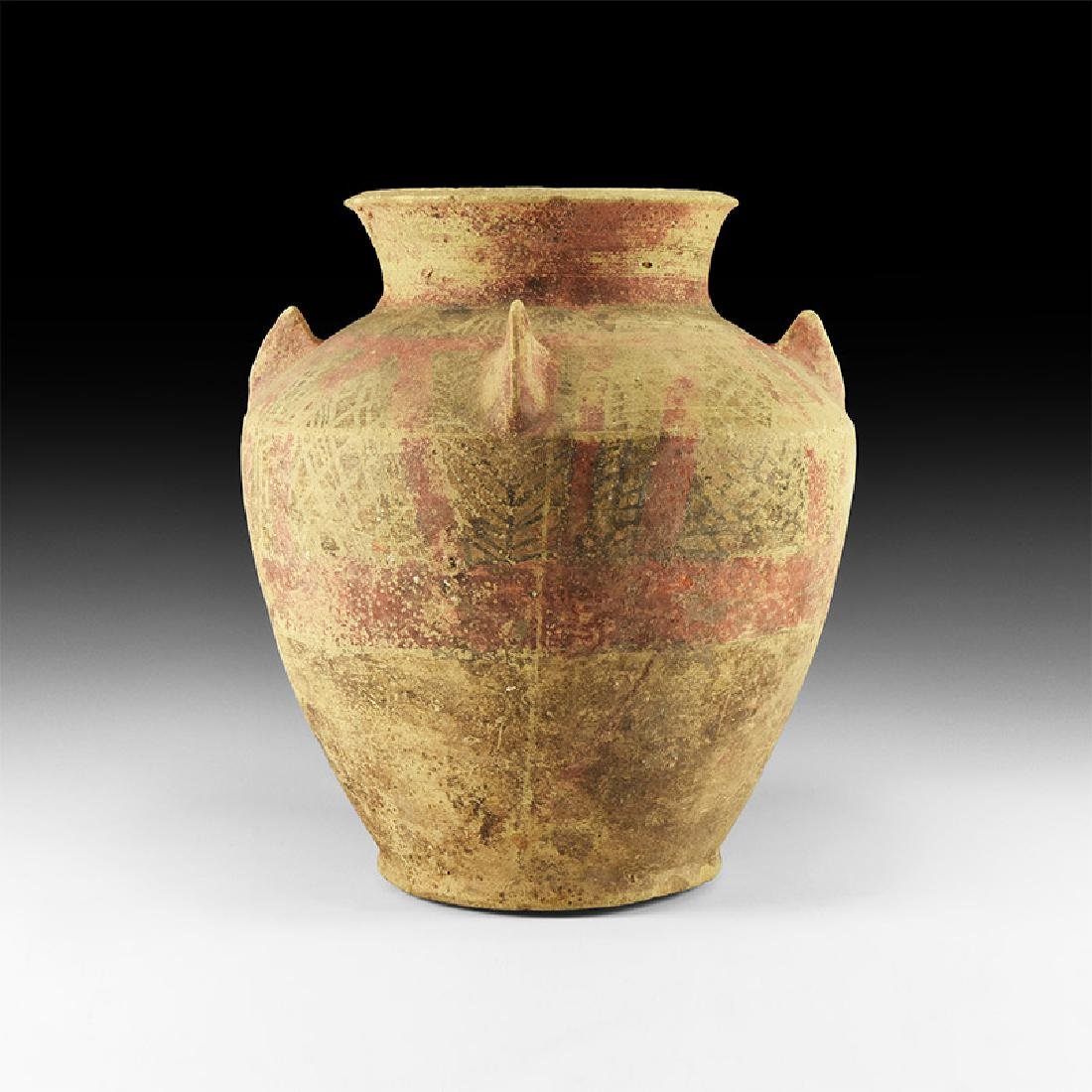 Western Asiatic Decorated Storage Jar