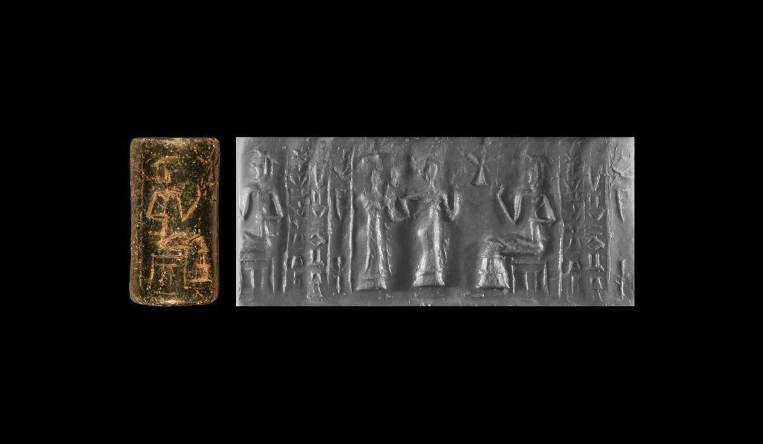 Neo-Sumerian Seal with Presentation Scene