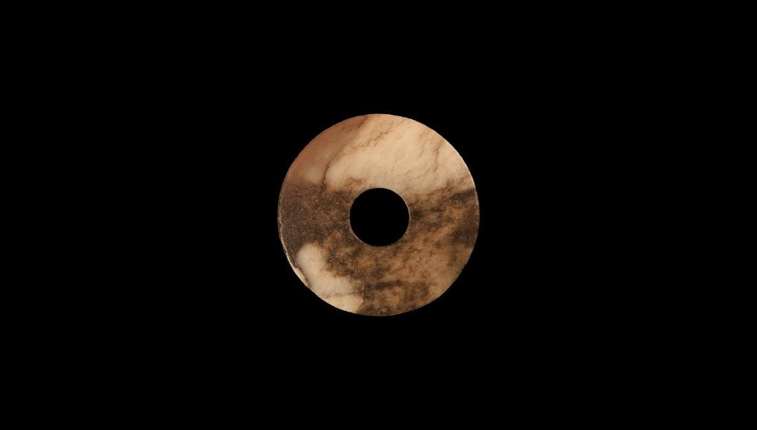 Chinese Neolithic Jade 'Pi' Disc
