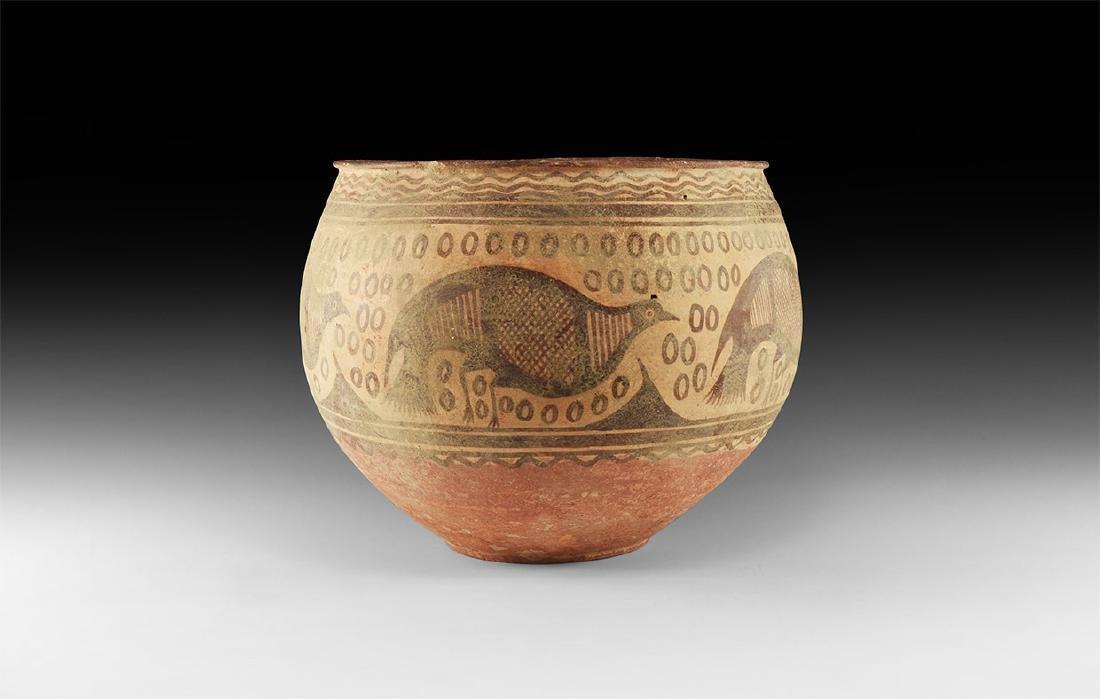 Indus Valley Large Mehrgarh Bichrome Bowl