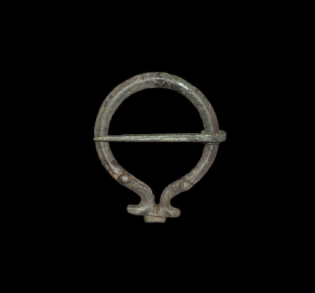 Romano-Celtic Omega Brooch