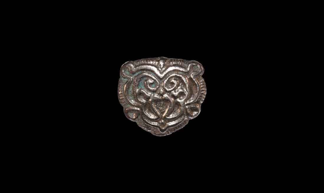 Viking Large Silver Belt Mount