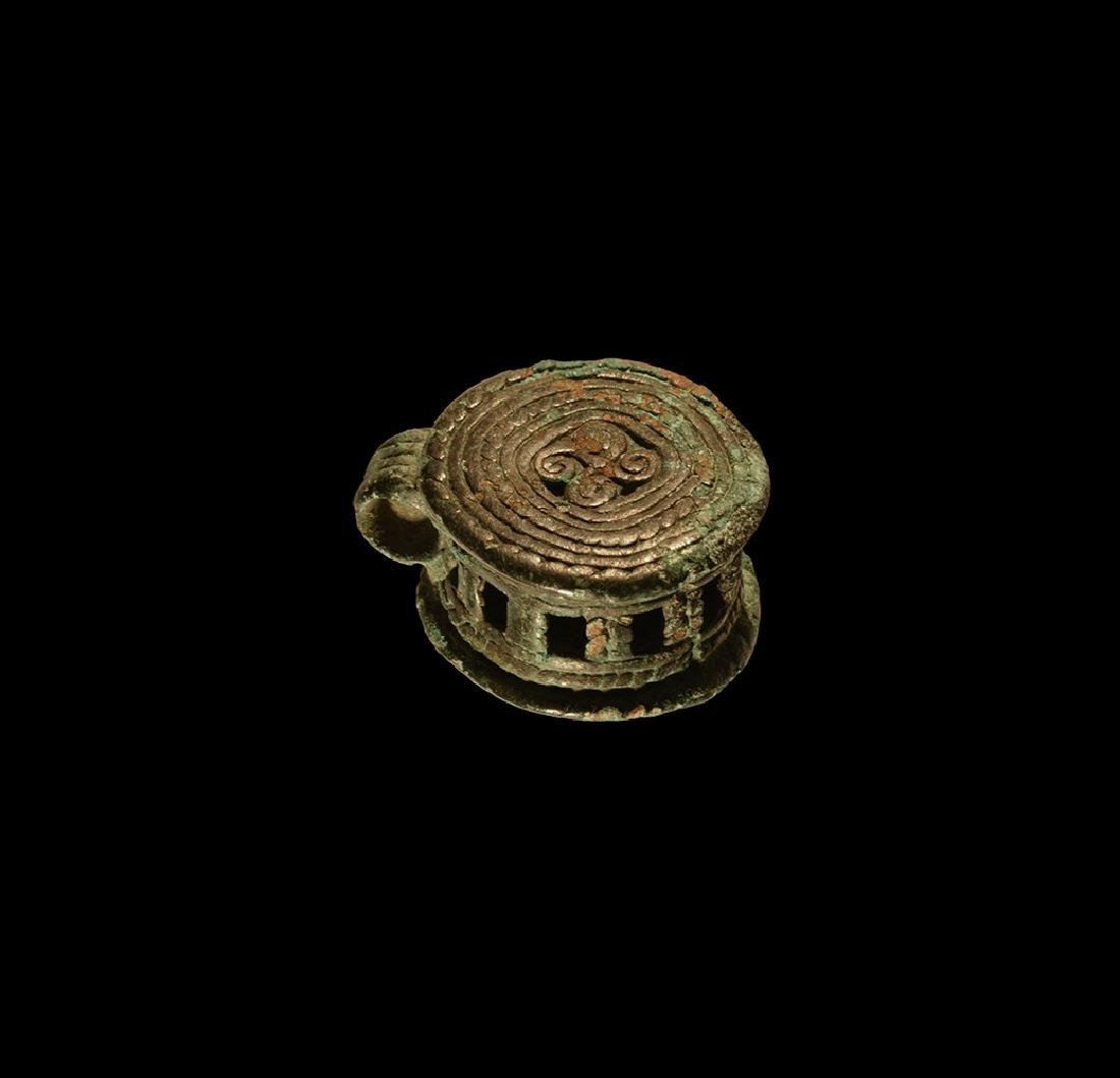 Viking Pendant with Fylfots