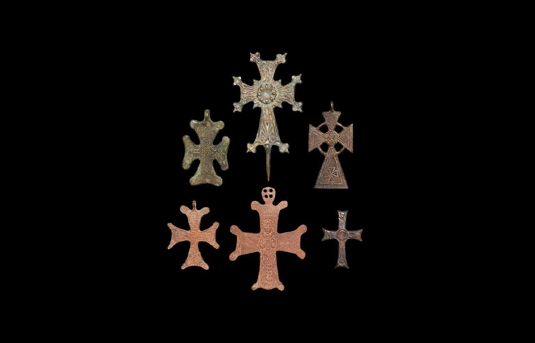 Post Medieval Decorated Cross Collection
