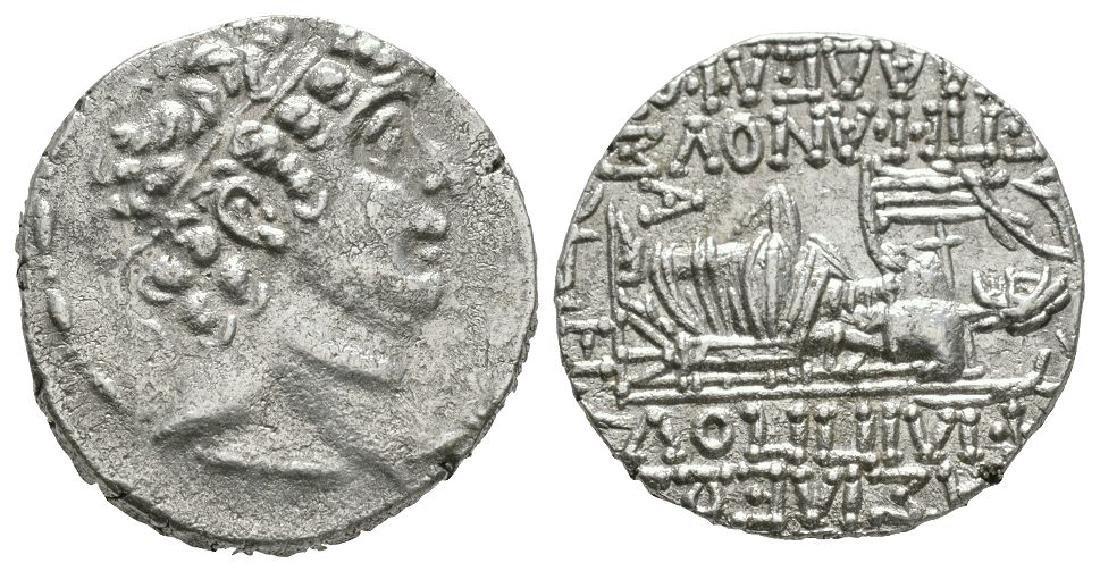 Seleukid - Philip I Philadelphus - Zeus Tetradrachm