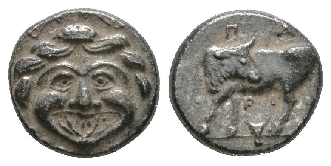Parion - Gorgoneion Hemidrachm