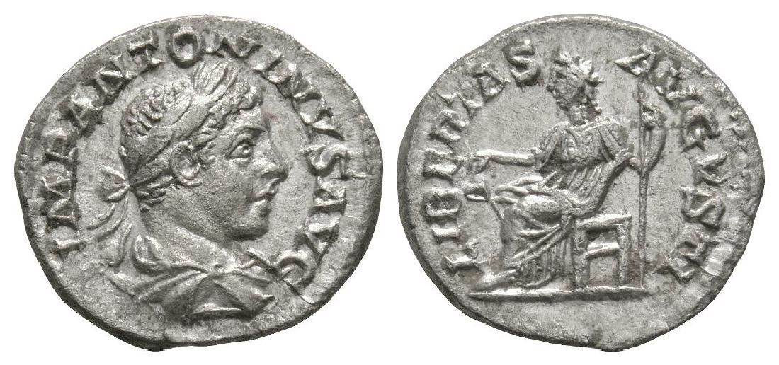 Elagabalus - Libertas Denarius
