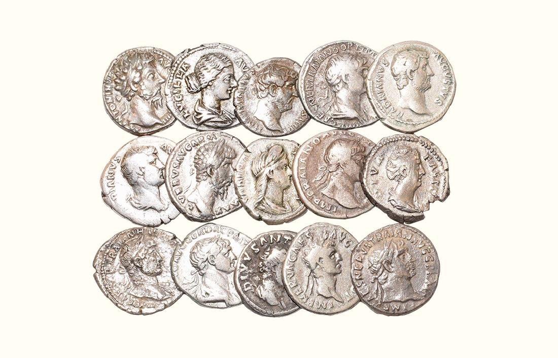 Nero to Lucius Verus - Denarii [15]