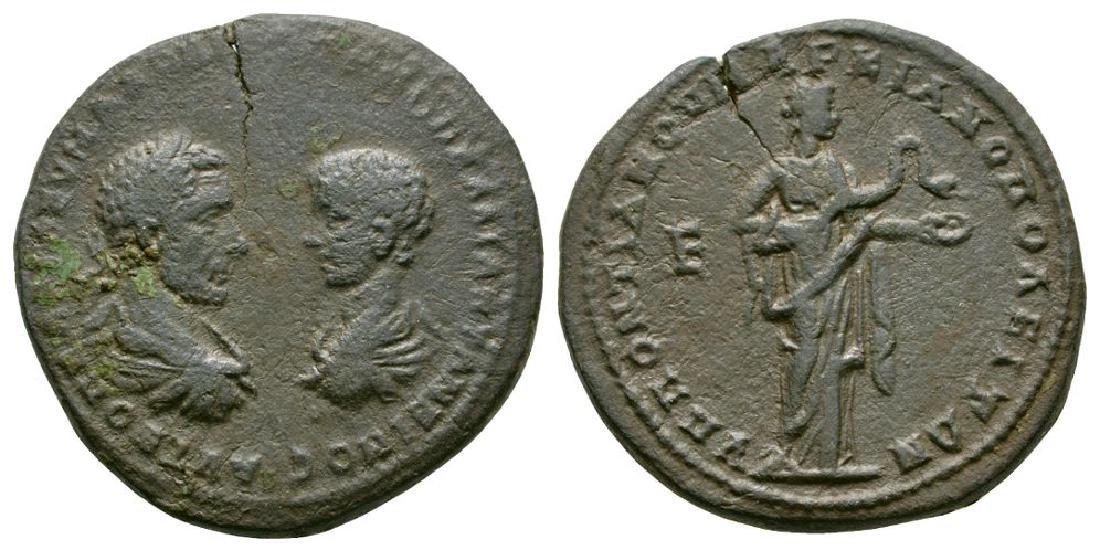 Macrinus/Diadumenian - Markianopolis - Bronze