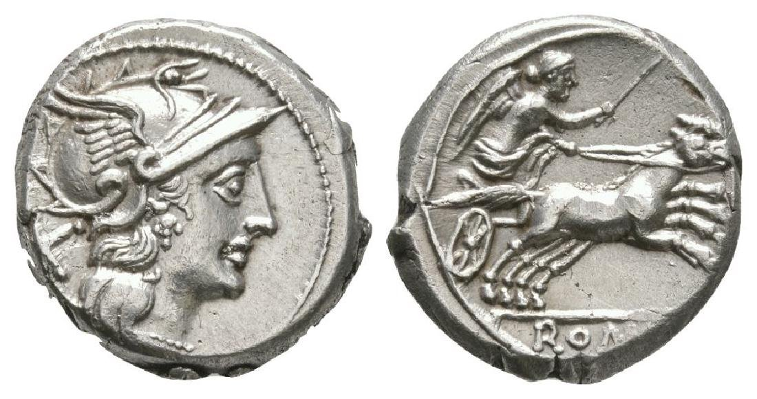 Early Coinage - Victory in Biga Denarius