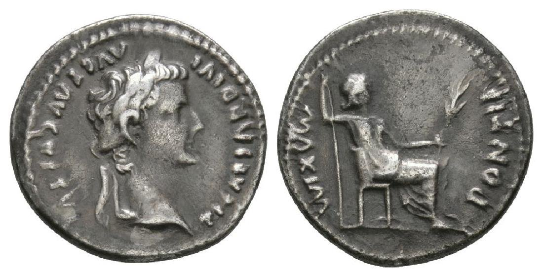 Tiberius - 'Tribute Penny' Denarius