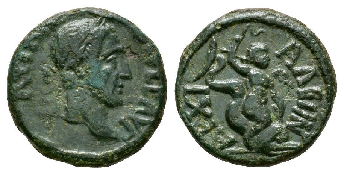Maximinus I - Thrace - Anchialus - Eros Bronze